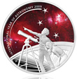 2009 International Year of Astronomy 1oz Silver Proof Coin