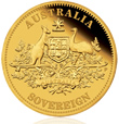 2009 Perth Mint Gold Proof Sovereign Coin