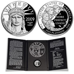 2009 American Platinum Eagle Proof Coin