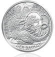 Austrian Basilisk of Vienna Coin