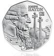 Austrian Joseph Haydn 5 Euro Silver Coin