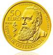 Austrian Theodor Billroth 50 Euro Gold Coin