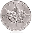 Canadian Platinum Maple Leaf Bullion Coin