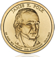 James K. Polk Presidential $1 Coin