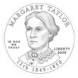 2009 Margaret Taylor First Spouse Gold Design
