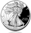 Proof Silver American Eagle Coin
