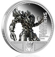 Transformers - Megatron 1oz Silver Proof Coin