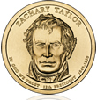 Zachary Taylor Presidential $1 Coin